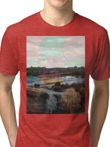 All About Italy. Tuscany Landscape 4 Tri-blend T-Shirt