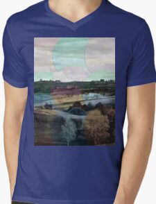 All About Italy. Tuscany Landscape 4 Mens V-Neck T-Shirt