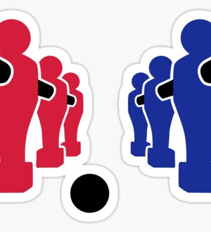 Foosball team Sticker