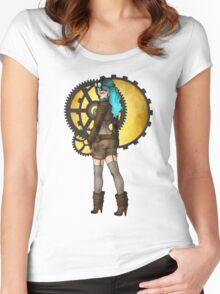 Steampunk Pinup Women's Fitted Scoop T-Shirt