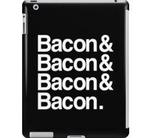 Bacon And Dark iPad Case/Skin