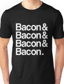 Bacon And Dark Unisex T-Shirt