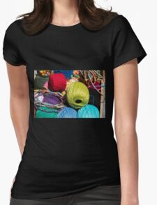 Let's Get Busy! Womens Fitted T-Shirt