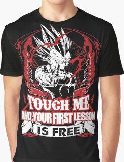 Super Saiyan Vegeta Lesson Shirt: Graphic T-Shirt