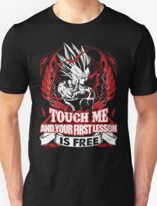 Super Saiyan Vegeta Lesson Shirt: Unisex T-Shirt