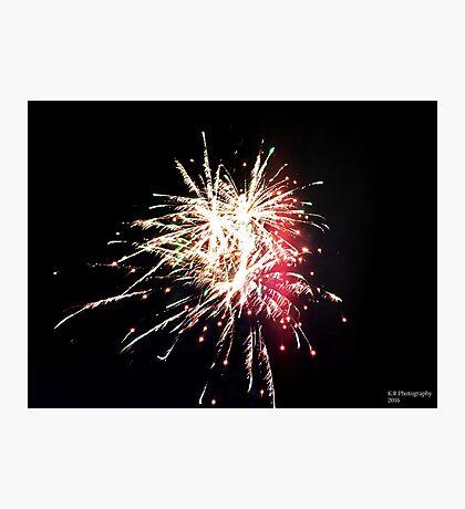 Fireworks Photographic Print