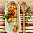 Tomato Still Life 1 by Rebecca Cozart