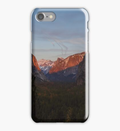 Dusk Tunnel View - Yosemite  iPhone Case/Skin