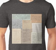 Alexander Hamilton Papers Collection Unisex T-Shirt