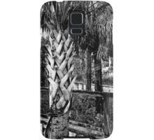 Palms And Walls In Black And White Samsung Galaxy Case/Skin