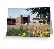 San Geronimo Chapel Greeting Card