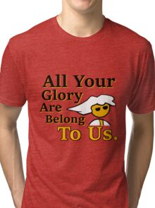 Steam PC Master Race All Your Glory Tri-blend T-Shirt