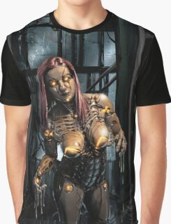 Cyberpunk Painting 078 Graphic T-Shirt