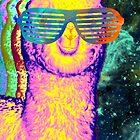 Super Space Alpaca by emperorwish