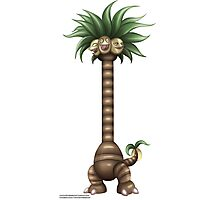 Pokemon: Alola Exeggutor Photographic Print
