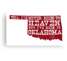 Oklahoma Heaven - Red Canvas Print