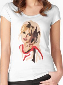 Brigitte Bardot Women's Fitted Scoop T-Shirt