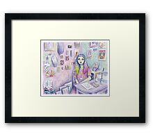 My Studio Framed Print