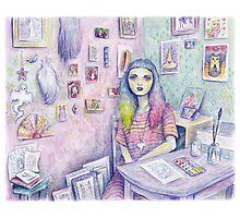 My Studio Photographic Print