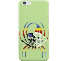 SWITZERLAND SPIDER SKULL FLAG iPhone Case/Skin