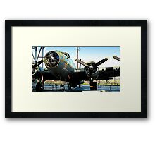 Flying Fort Framed Print