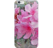 Flowers With Maya Angelou Verse iPhone Case/Skin