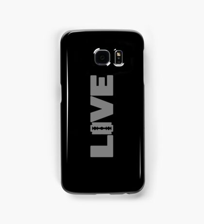 to live dangerously Samsung Galaxy Case/Skin
