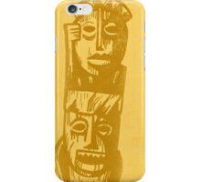 Tiki Gods - Yellow iPhone Case/Skin