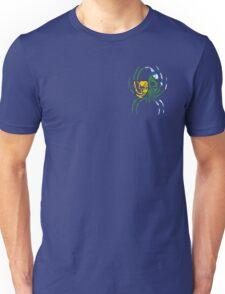VANCOUVER SPIDER SKULL FLAG BC  Unisex T-Shirt
