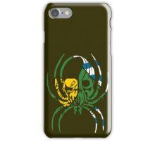 VANCOUVER SPIDER SKULL FLAG BC  iPhone Case/Skin