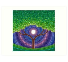 Happy Tree of Life Art Print