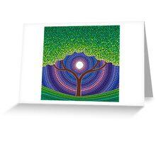 Happy Tree of Life Greeting Card