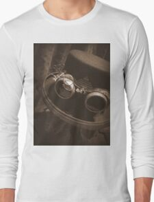 Steampunk Gentlemen's Hat 1.1 Long Sleeve T-Shirt