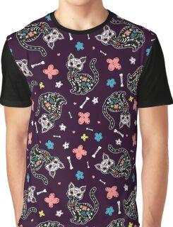 Dia de los Gatos Graphic T-Shirt