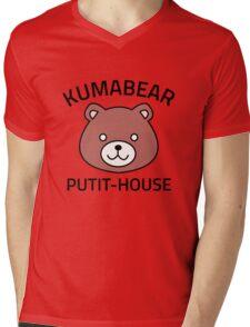 Isshiki Kumabear - Shokugeki No Soma Mens V-Neck T-Shirt