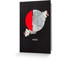 Ascend  Greeting Card
