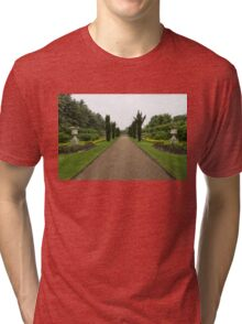 A Peaceful Walk in the Avenue Gardens - the Allee is All Yours Tri-blend T-Shirt