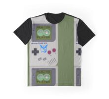Real OG Pokemon GO Player Gameboy Graphic T-Shirt