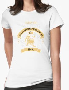 I maybe Wrong- but I high doubt it - I'm a LEO Womens Fitted T-Shirt