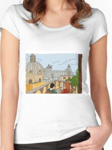 Rome, Italy Women's Fitted Scoop T-Shirt