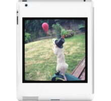 Mouse with a balloon iPad Case/Skin