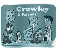 Crowley & Friends - Supernatural Poster