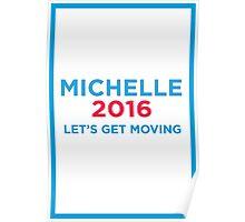 Michelle 2016 Blue Poster