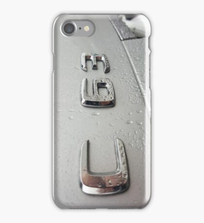 Mercedes C63 AMG with Rain Drops - Vertical | Iphone Android iPhone Case/Skin