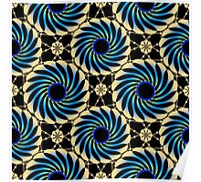 Seamless abstract pattern.  Poster