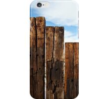View of the Fence iPhone Case/Skin