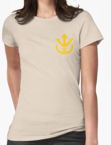 Super Saiyan Vegeta Crest Shirt Womens Fitted T-Shirt