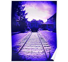Indigo Train Poster