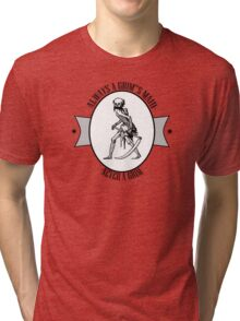 NEVER A GRIM Tri-blend T-Shirt