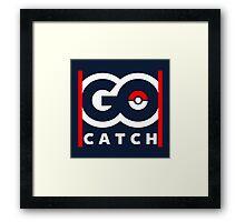 Go Catch Framed Print